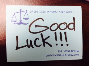 Good luck photo for blog