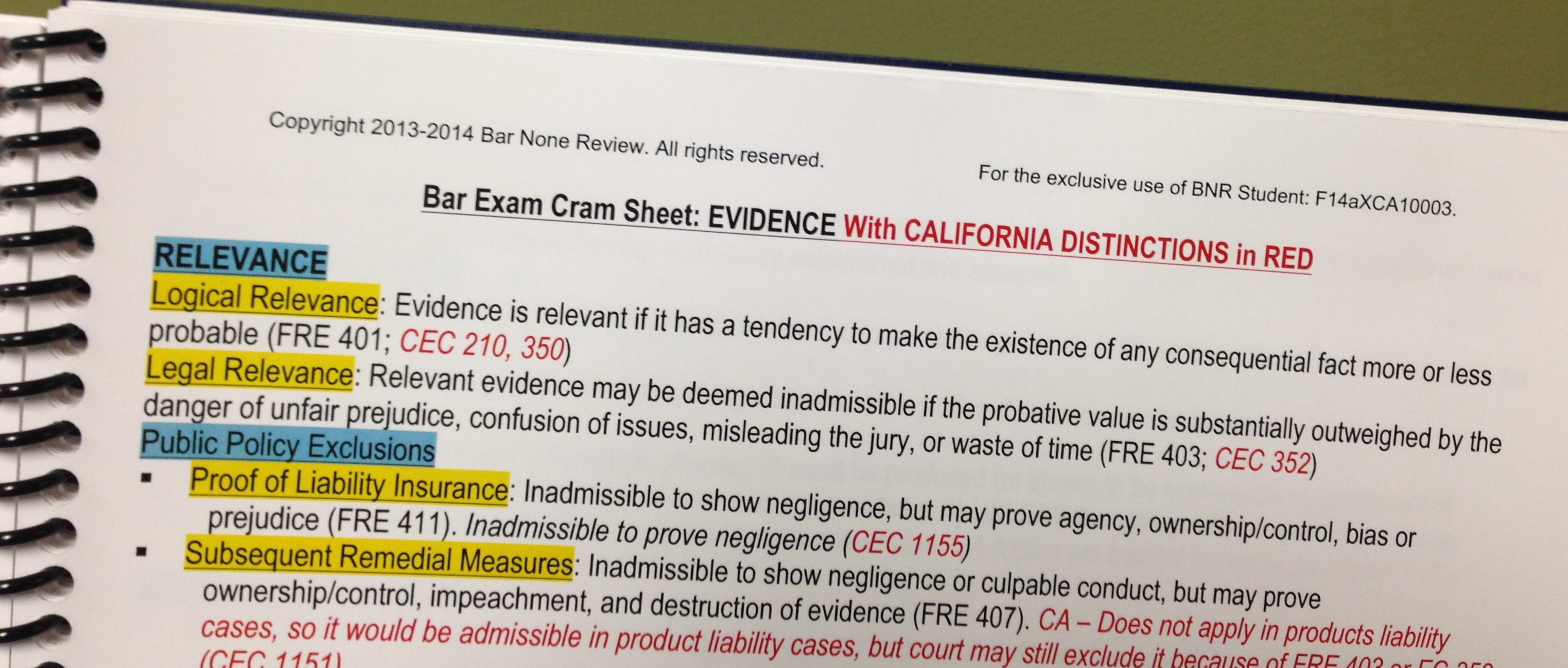california bar exam feb 2008 essay predictions