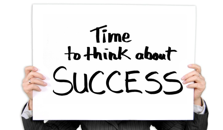 Success time to think about it