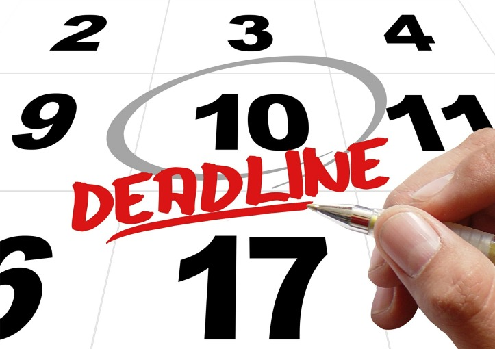 Deadline 10 days